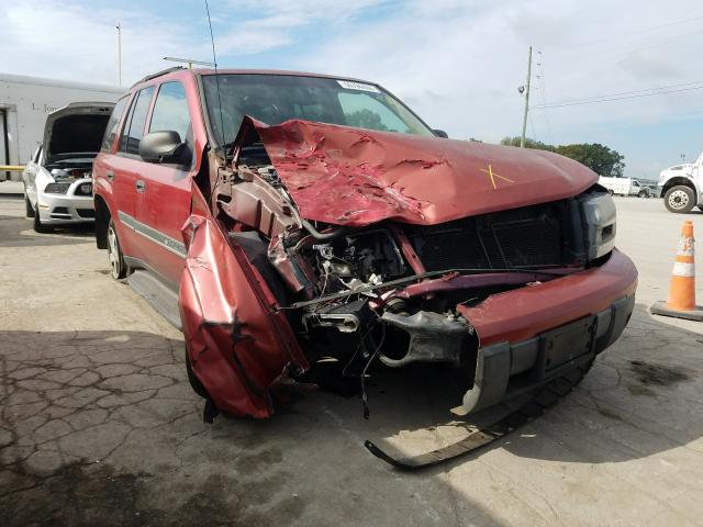 Chevrolet Trailblazer salvage cars for sale: 2002 Chevrolet Trailblazer