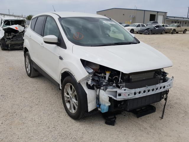 Salvage cars for sale from Copart San Antonio, TX: 2019 Ford Escape SE
