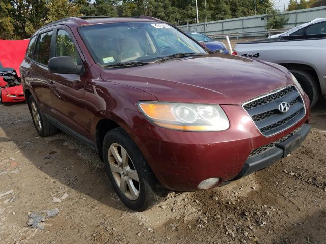 Hyundai Santa FE salvage cars for sale: 2008 Hyundai Santa FE