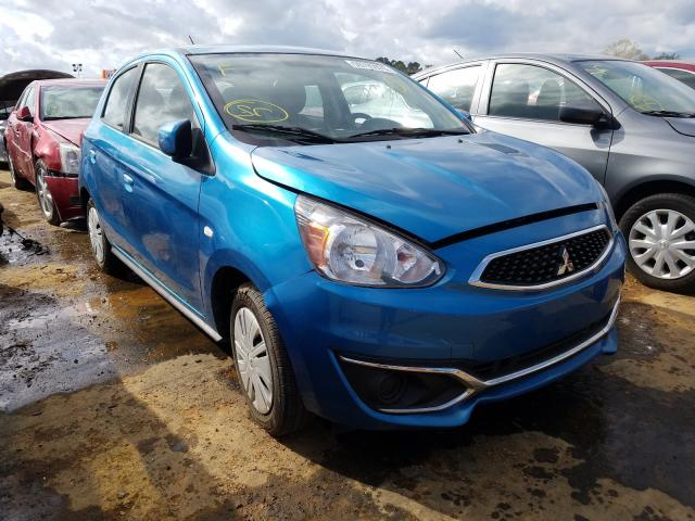 Salvage cars for sale from Copart Theodore, AL: 2019 Mitsubishi Mirage ES