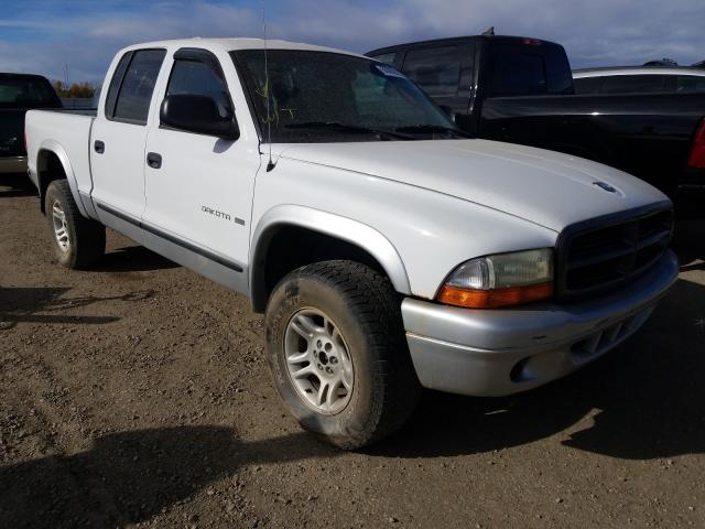 Dodge salvage cars for sale: 2002 Dodge Dakota Quattro