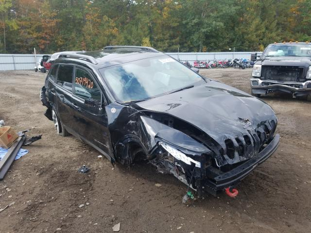Salvage cars for sale from Copart Lyman, ME: 2014 Jeep Cherokee T