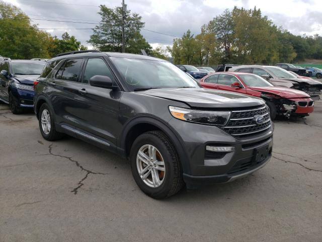 Ford Explorer X salvage cars for sale: 2020 Ford Explorer X