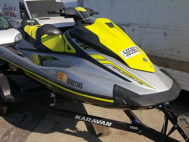 Salvage cars for sale from Copart Van Nuys, CA: 2020 Yamaha VX Cruiser