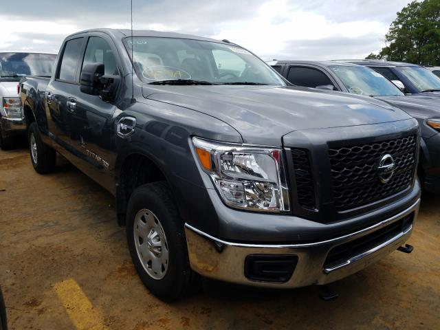 Nissan salvage cars for sale: 2019 Nissan Titan XD S