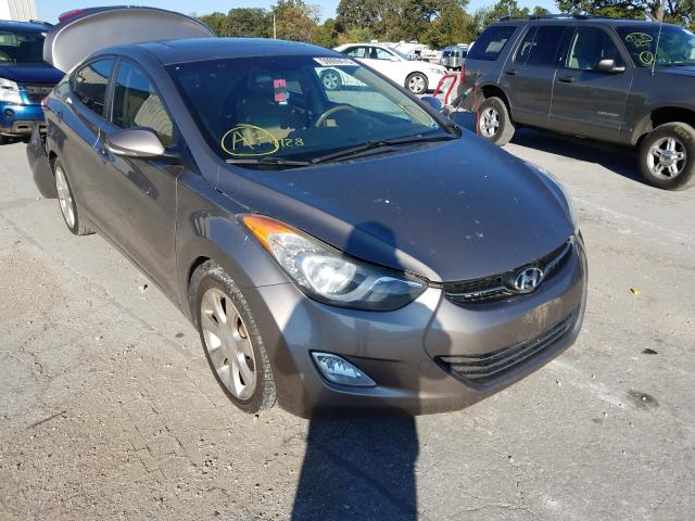 Salvage cars for sale from Copart Rogersville, MO: 2011 Hyundai Elantra GL