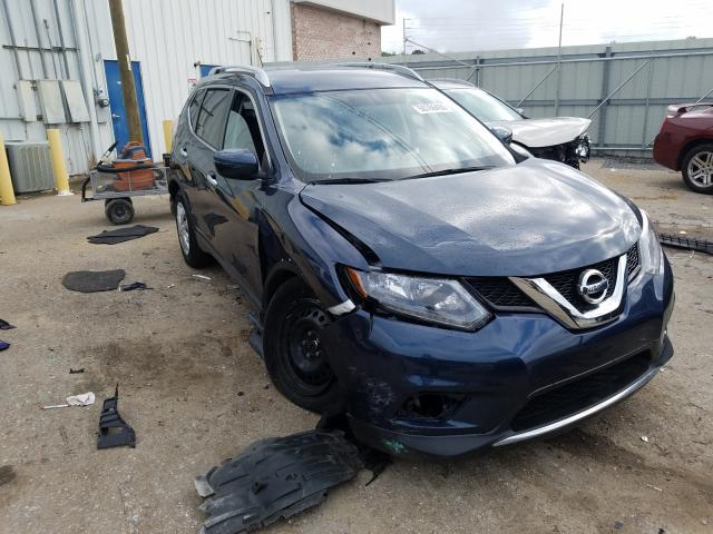 Salvage cars for sale from Copart Montgomery, AL: 2016 Nissan Rogue S