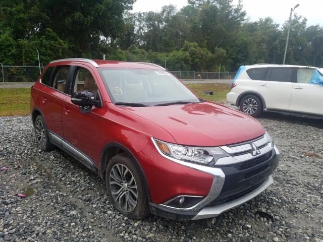 Salvage cars for sale from Copart Tifton, GA: 2017 Mitsubishi Outlander