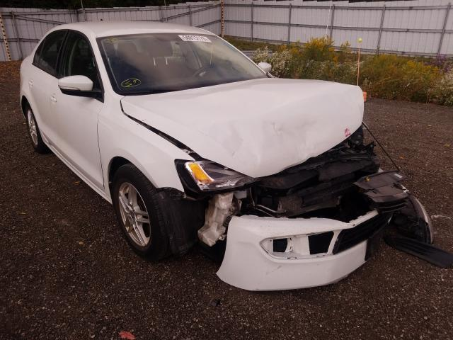 Salvage cars for sale from Copart London, ON: 2014 Volkswagen Jetta Base