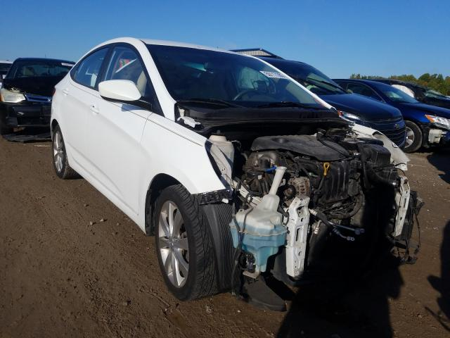 Salvage cars for sale from Copart Louisville, KY: 2012 Hyundai Accent GLS