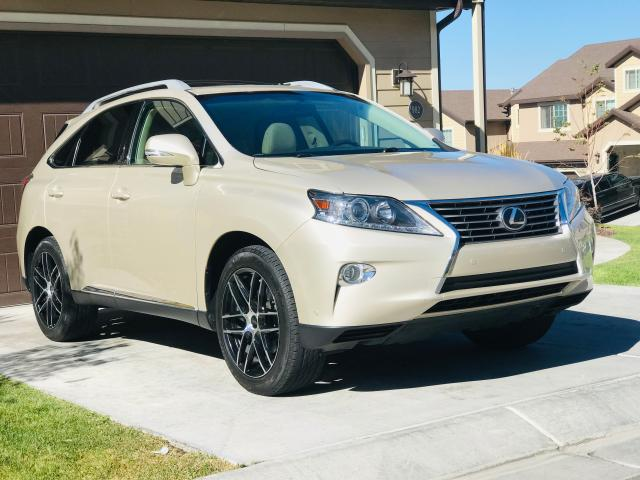 Lexus RX 350 Base salvage cars for sale: 2015 Lexus RX 350 Base