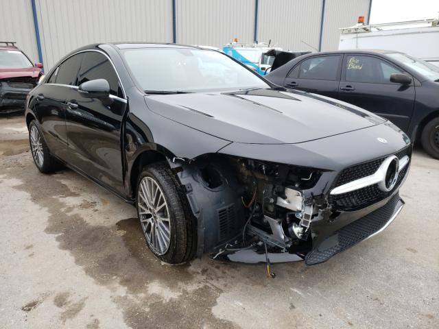 Salvage cars for sale from Copart Apopka, FL: 2020 Mercedes-Benz CLA 250
