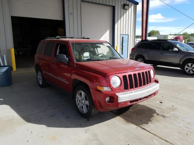 Salvage 2010 Jeep PATRIOT LI for sale
