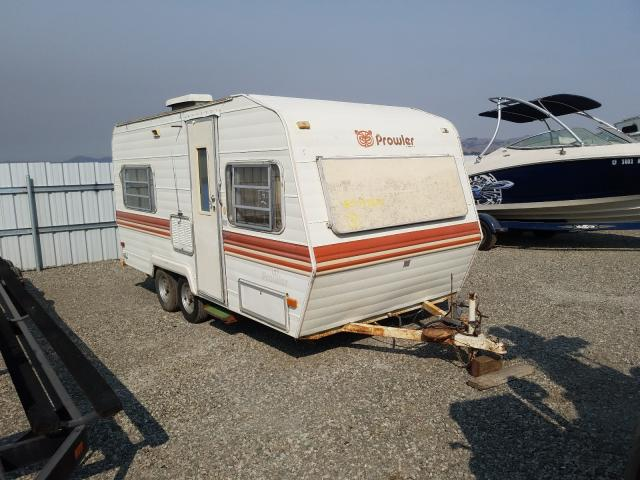 Prowler salvage cars for sale: 1983 Prowler Travel Trailer