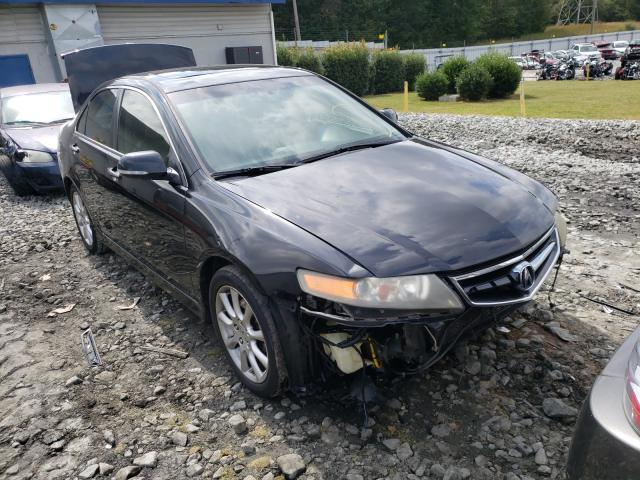 Salvage cars for sale from Copart Mebane, NC: 2007 Acura TSX
