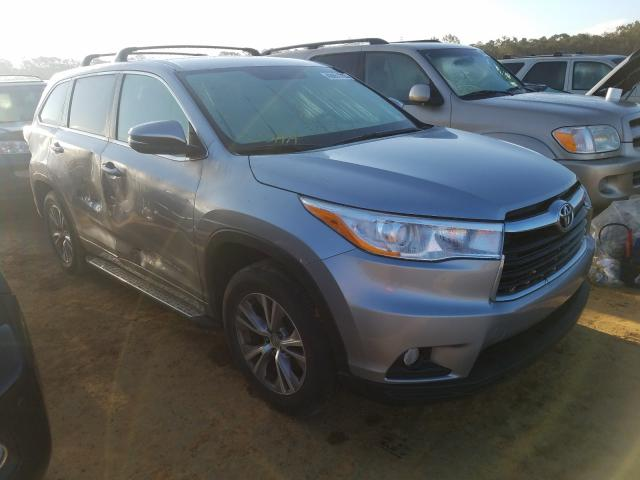 Salvage cars for sale from Copart Theodore, AL: 2014 Toyota Highlander