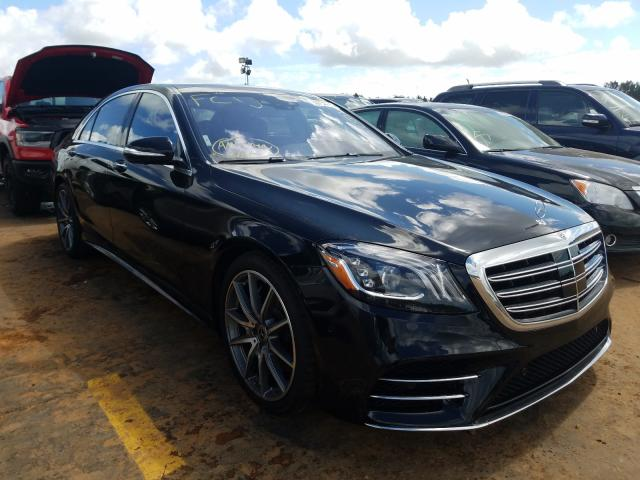Salvage cars for sale from Copart Woodhaven, MI: 2018 Mercedes-Benz S 560