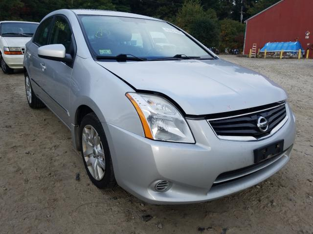 Salvage cars for sale from Copart Mendon, MA: 2012 Nissan Sentra 2.0