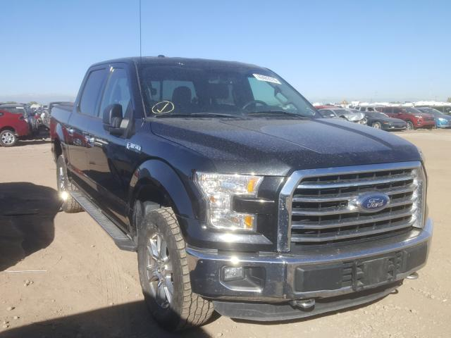 Salvage cars for sale from Copart Brighton, CO: 2015 Ford F150 Super