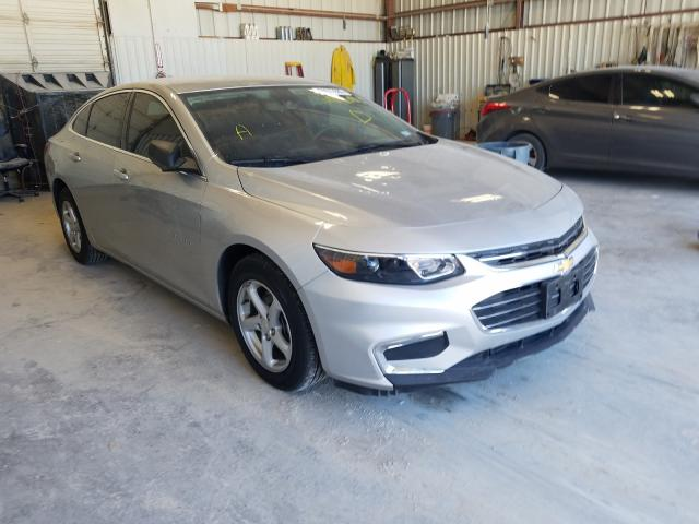 Salvage cars for sale from Copart Abilene, TX: 2016 Chevrolet Malibu LS