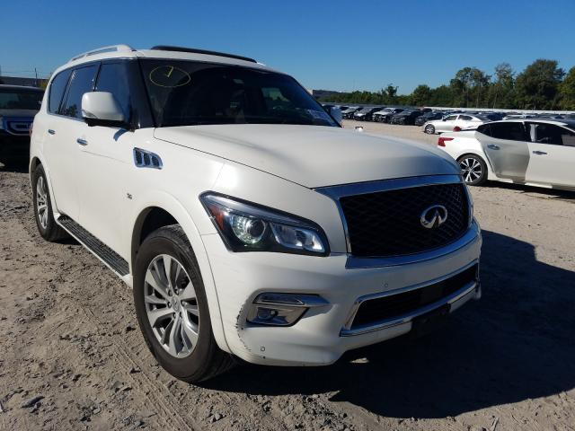 Infiniti QX80 salvage cars for sale: 2016 Infiniti QX80