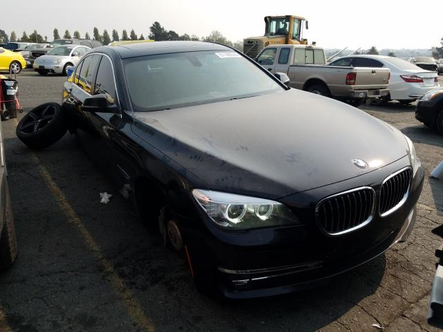 BMW 750 LI salvage cars for sale: 2014 BMW 750 LI
