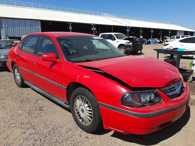 Chevrolet Impala salvage cars for sale: 2000 Chevrolet Impala
