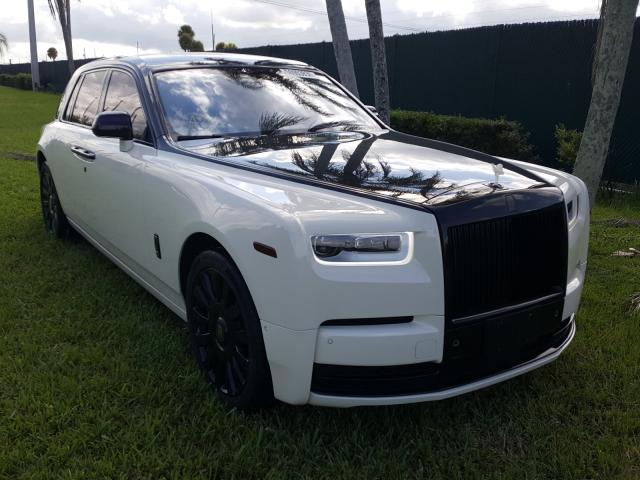 Rolls-Royce salvage cars for sale: 2019 Rolls-Royce Phantom