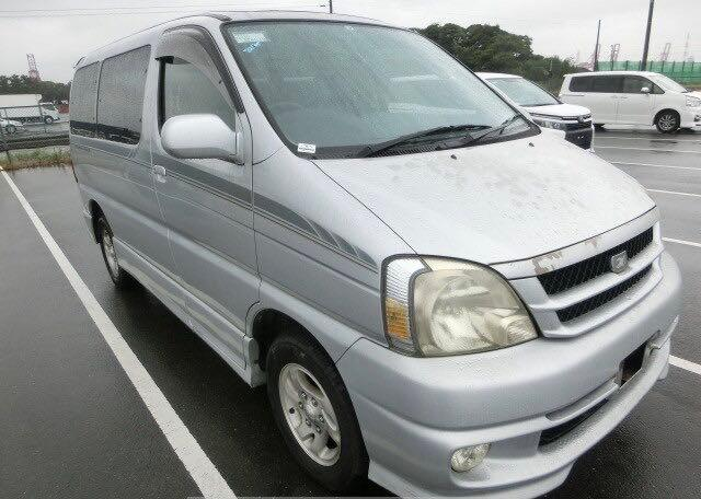 Salvage cars for sale at North Billerica, MA auction: 1999 Toyota Van Deluxe