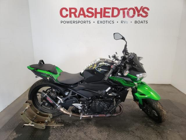 Salvage cars for sale from Copart Sacramento, CA: 2019 Kawasaki ER400 D