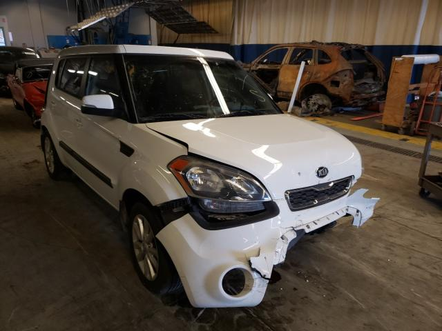 KIA salvage cars for sale: 2013 KIA Soul +