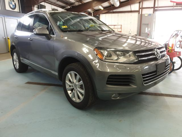 Volkswagen salvage cars for sale: 2014 Volkswagen Touareg V6