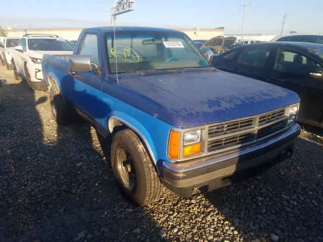 Dodge Dakota salvage cars for sale: 1987 Dodge Dakota