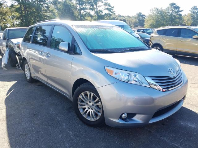 Salvage cars for sale from Copart Eight Mile, AL: 2017 Toyota Sienna XLE