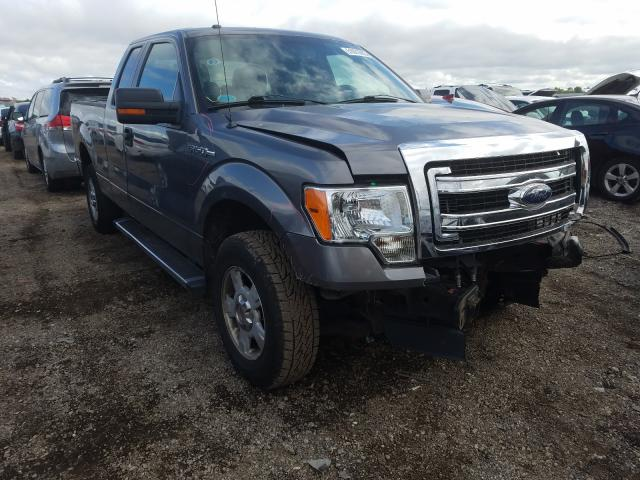 Salvage cars for sale from Copart Elgin, IL: 2013 Ford F150 Super