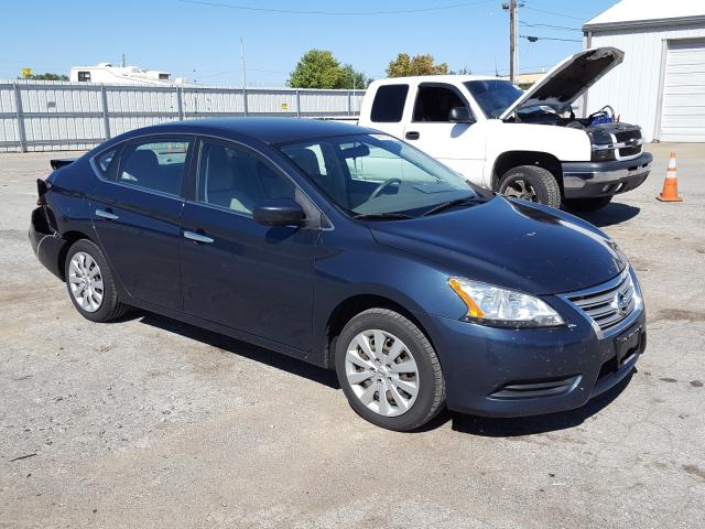 Salvage cars for sale from Copart Lexington, KY: 2014 Nissan Sentra S