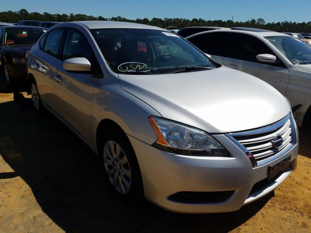 Salvage cars for sale from Copart Theodore, AL: 2014 Nissan Sentra S