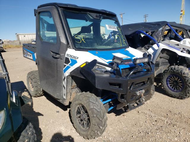 Salvage cars for sale from Copart Casper, WY: 2017 Polaris Ranger XP