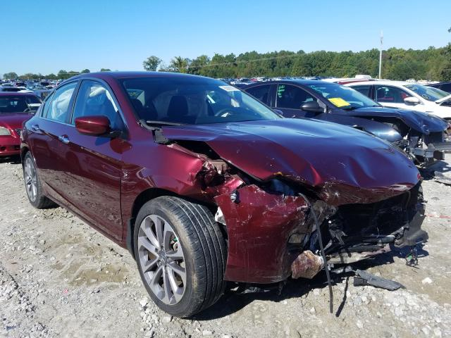 Salvage cars for sale from Copart Loganville, GA: 2014 Honda Accord Sport
