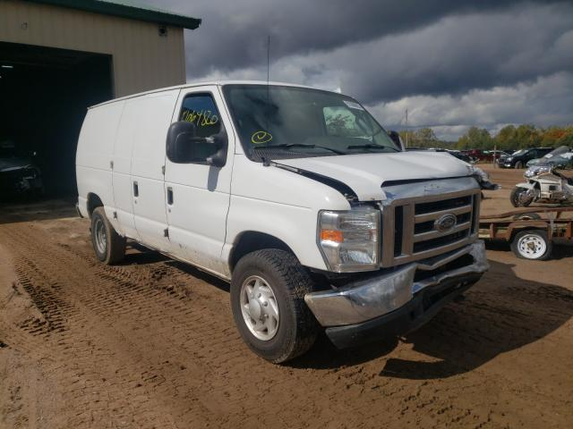 Salvage cars for sale from Copart Kincheloe, MI: 2009 Ford Econoline