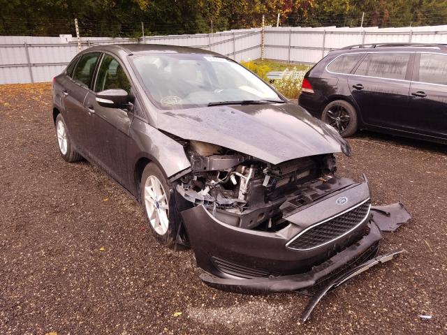 Salvage cars for sale from Copart Ontario Auction, ON: 2017 Ford Focus SE