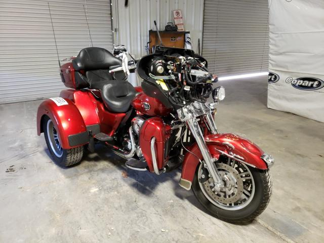 Salvage cars for sale from Copart Hurricane, WV: 2013 Harley-Davidson Flhtcutg T