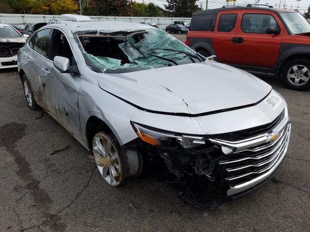 Salvage cars for sale from Copart Moraine, OH: 2020 Chevrolet Malibu LT