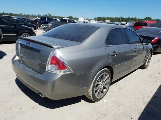 2008 FORD FUSION SEL - Right Rear View