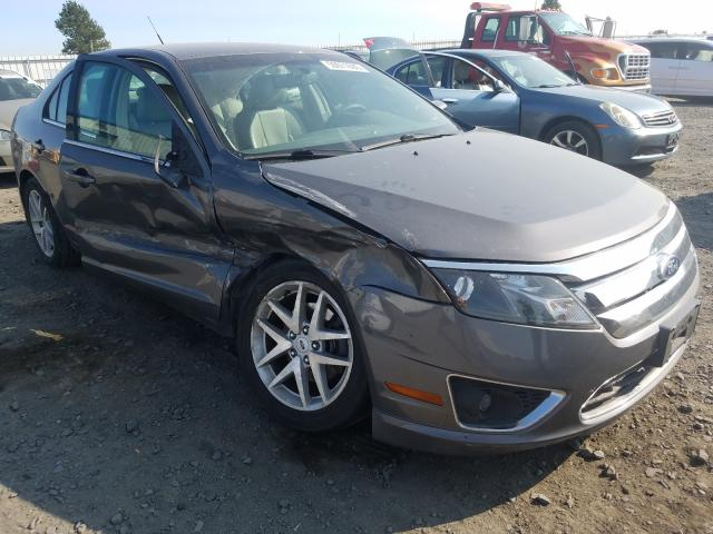 Salvage cars for sale from Copart Airway Heights, WA: 2012 Ford Fusion SEL