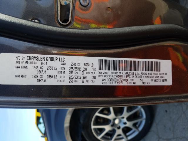 2014 Dodge JOURNEY | Vin: 3C4PDDEG8ET290014