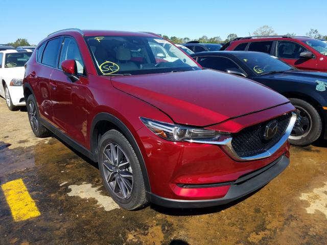 Mazda salvage cars for sale: 2018 Mazda CX-5 Grand Touring