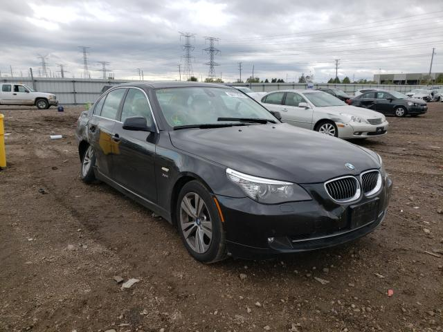 BMW 528 XI salvage cars for sale: 2010 BMW 528 XI