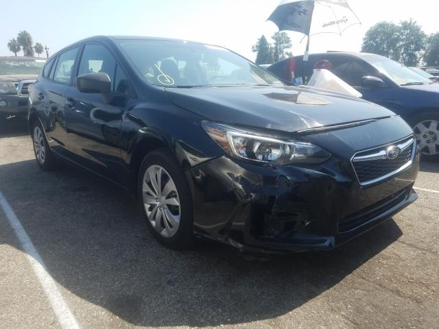 Salvage cars for sale from Copart Van Nuys, CA: 2019 Subaru Impreza