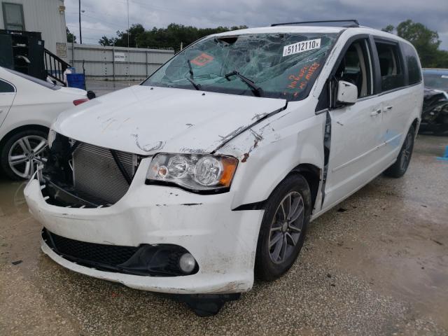 из сша 2017 Dodge Grand Cara 3.6L 2C4RDGCG6HR673731